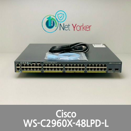 [Cisco] Genuine WS-C2960X-48LPD-L Catalyst 48-Port PoE Gigabit Switch ■FastShip■