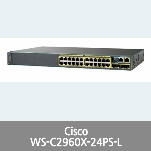 [Cisco] WS-C2960X-24PS-L Catalyst 2960-X Series Switch