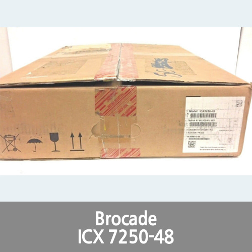Brocade ICX7250-48 Rack Mountable 48 PORT Ethernet L3 Managed + Ruckus NEW