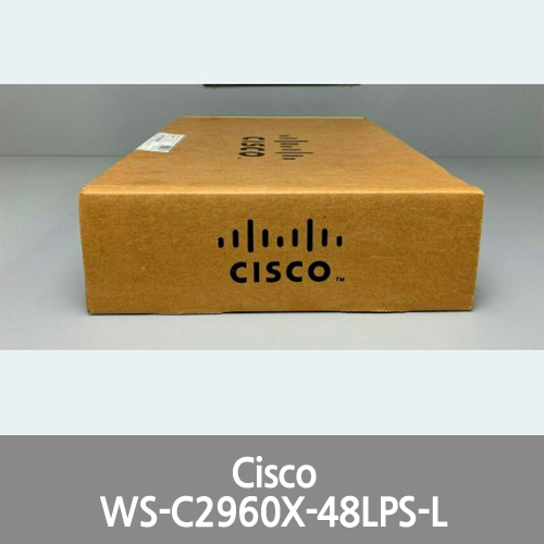 [Cisco] WS-C2960X-48LPS-L Catalyst 2960-X Series 48 Port PoE Switch -