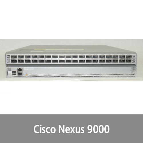 [중고][Cisco] Nexus 9000 series 36-port N9K-C9332PQ V02 w/9336 ACI Spine Switch