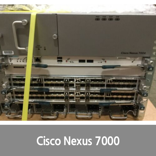 [중고][Cisco]N7K-C7004 Cisco Nexus 7000 4-Slot Switch Chassis N7k-SUP2 N7k-F248XP-25E, 4x PSU